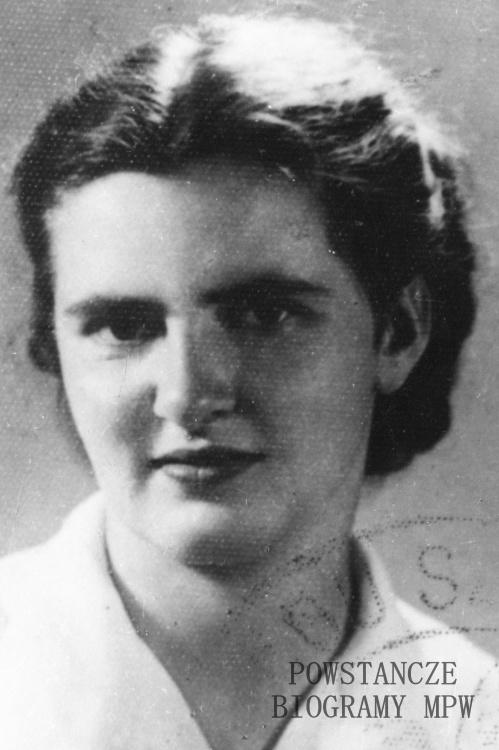 """Barbara Bazińska """"Udycz"""" (1918-1994) Fot. ze zbiorów Muzeum Powstania Warszawskiego, sygn. P/6932"""