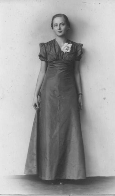 Zofia Gloeh - zdjęcie z pochodzi z momentu jej konfirmacji - ok. 1935 r.
