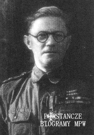 """Major Eugeniusz Morozowicz """"Janek"""" (1893-1974). Fot. udostępnione z archiwum rodzinnego przez Zygmunta Morozowicza"""