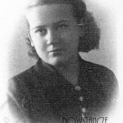 Pielęgniarka Jadwiga Panek-Krańska-Grygosińska. Fot. AR MPW