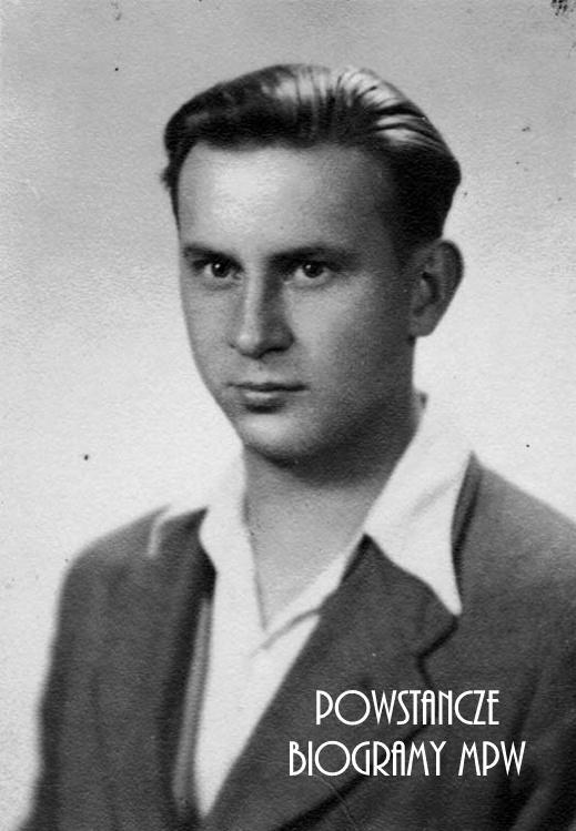 """Hipolit Józef Chaciński """"Żubr"""" (1920-1956). Fot. z archiwum rodzinnego Jerzego Chacińskiego."""