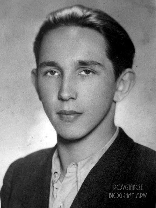 """Stefan Orłowski ps.""""Słaby"""" (1926-1944). Fot. AR MPW"""