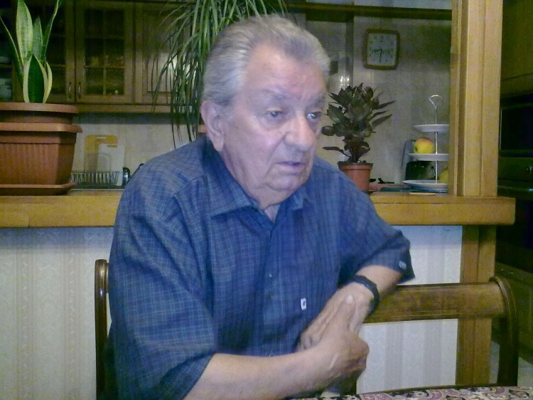 Adam Dziechciński - zdjęcie z 2011 r.