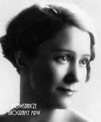 """Maria Kaupe-Ostrowska ps. """"Krystyna"""" (1907-1944) Fot. udostępnione przez Magdalenę Ciok"""