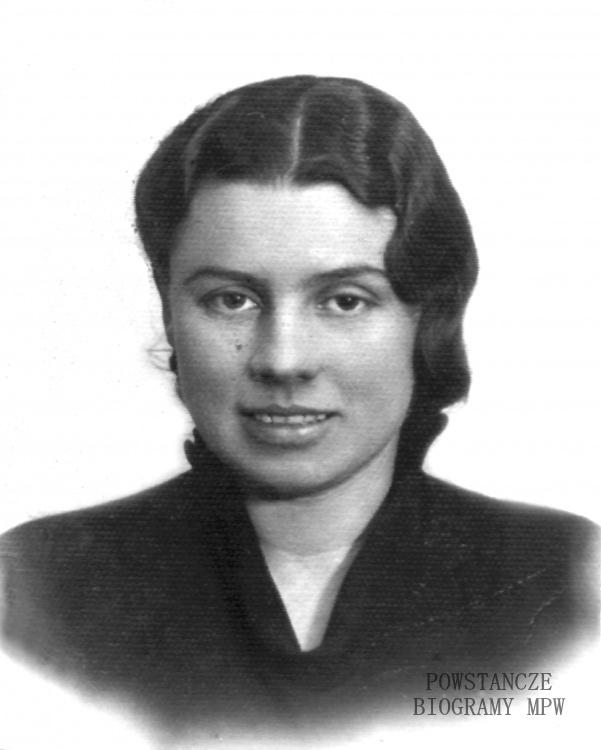 "Wanda Bronisława Głuchowska ps. ""Krysta"" (1901-1976). Fot. archiwum rodzinne."