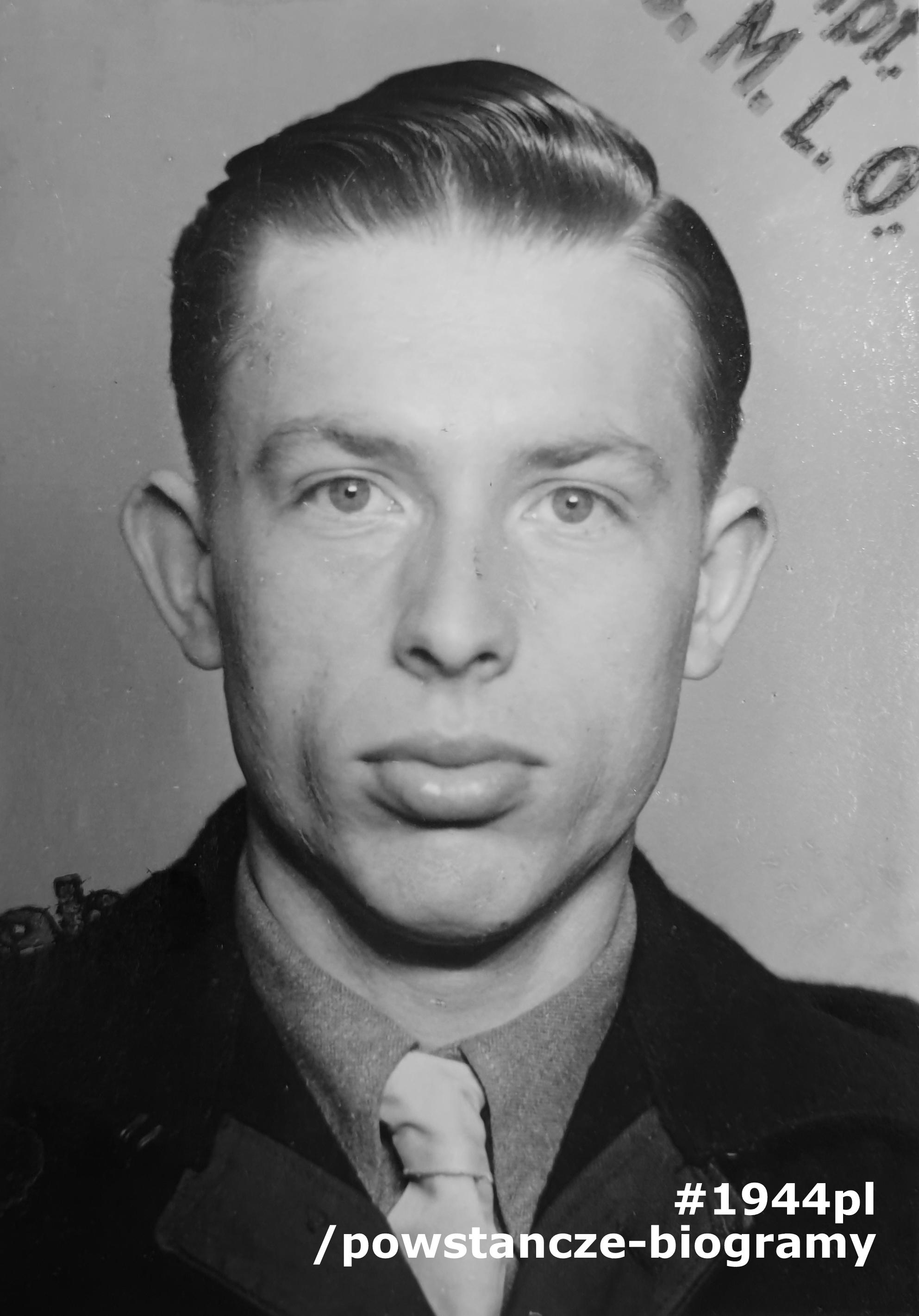 """Zbigniew Leszek Wąsik """"Wyszyński"""",  """"Zbyszek"""" (1925-2019). Fot. ze zbiorów prywatnych, udostępnił  p. Tom Wodzinski (Australia)."""