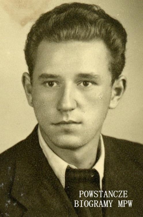 """Eugeniusz Kaczmarek """"Żbik"""" (1926-2010). Fot. udostępnione z archiwum rodzinnego przez syna."""