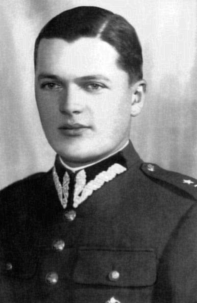 """Tadeusz Bernard Kisiel ps. """"Rawicz"""" Fot. archiwum rodzinne."""