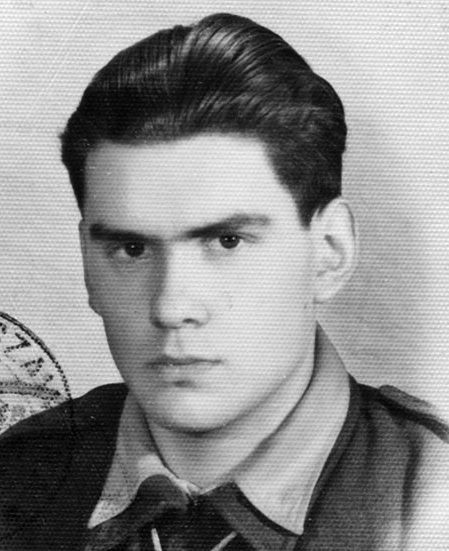 """Jerzy Radzikowski """"Irek"""". Źr. fot.:<i> """"Kamienie Na Szaniec""""</i>"""