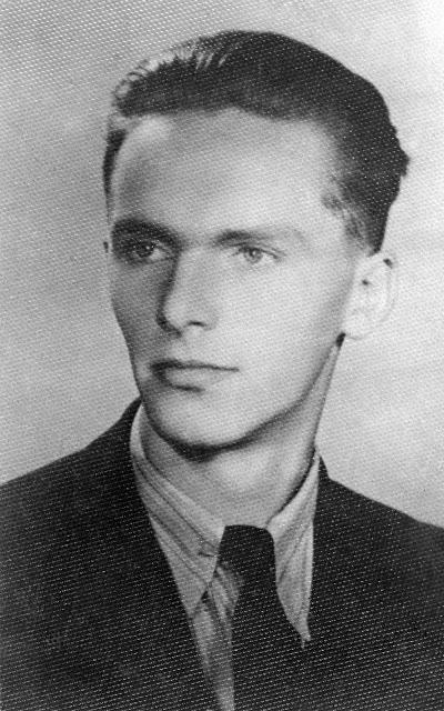 """Wojciech Omyła """"Wojtek"""" (1924-1944) Fot. AR MPW"""