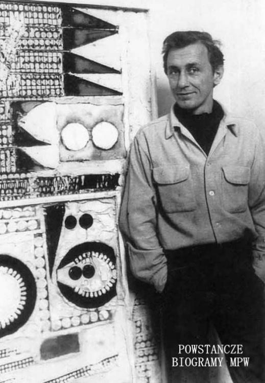 """Bronisław Kierzkowski """"Roman"""" (1924-1993) Fot. archiwum prywatne"""