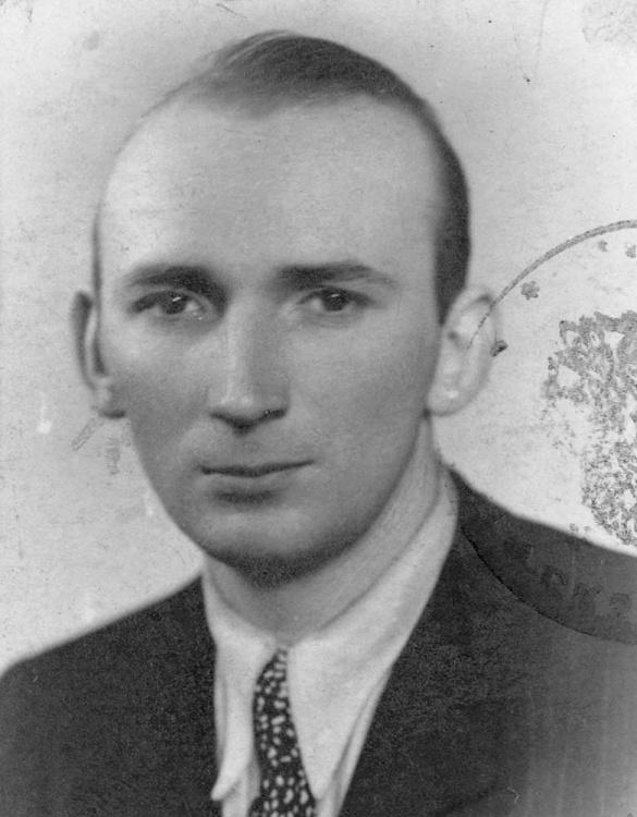 """Jerzy Lachowicz """"Szekspir"""" - 1945 r. Fot AR MPW"""