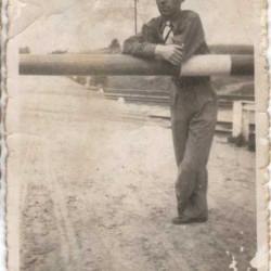 Tadeusz Jeske - 1936 r. Zdjęcie z archiwum rodzinnego Przemysława Czarnockiego.