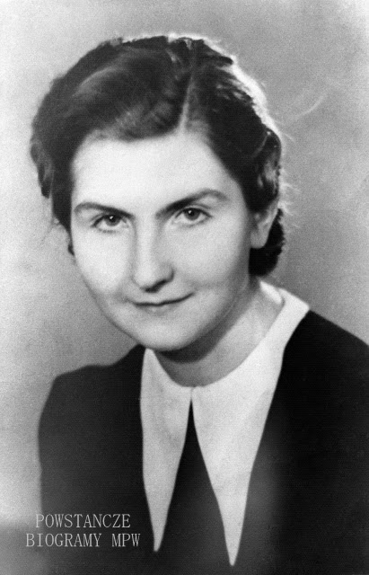 "Ewa Stefanowska ps. ""Ewa"" (1923-1944). Fot. AR MPW"