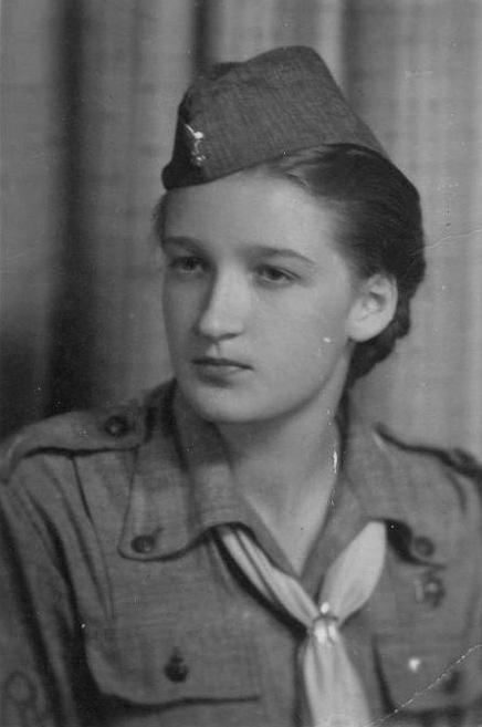 Maria Teresa Budzanowska - 1947 r.
