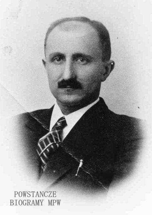 """Zygmunt Lorentowicz ps. """"Boruta"""" (1902-1944). Fot. z archiwum rodzinnego Michała Lorentowicza"""