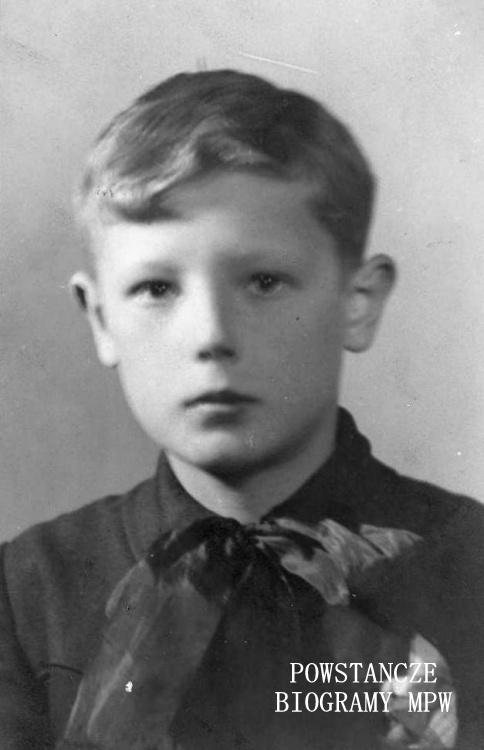 """Wacław Korzeniewski """"Orlątko"""" (1928-1944). Fot. archiwum rodzinne s. Barbary Czarnoleskiej."""