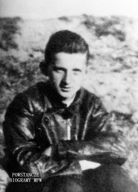 """Stanisław Zdzisław Deczkowski ps. """"Madejski"""" (1925-1944) Fot. AR MPW"""