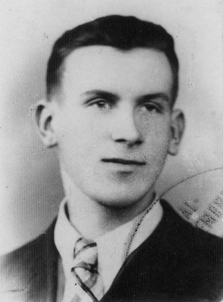 """Ryszard  Katana ps. """"Klotz"""" (1924-1944). Fot. AR MPW"""