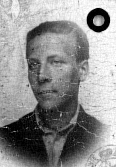 Wacław Jagiełło - zdjęcie z kenkarty, rok 1942