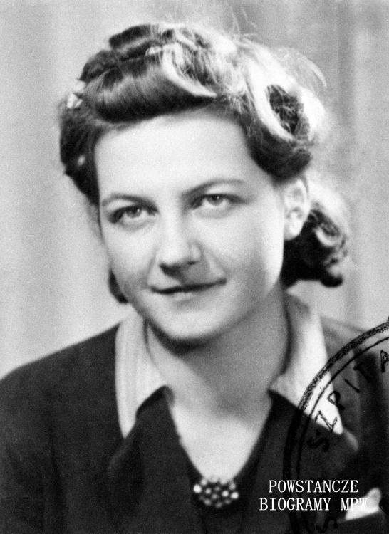 "Krystyna Szweda - Musiatowicz ps. ""Stefa"" (1921-2015). Fot. AR MPW"