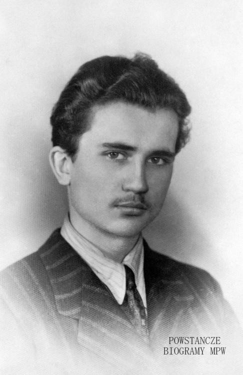 """Stanisław Sadkowski """"Czarny"""" (1925-1944). Fot. AR MPW"""