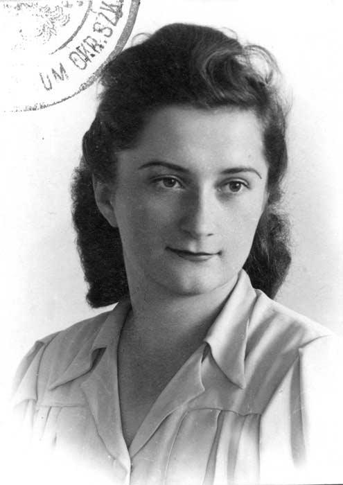 Maria Ludwika Augustyńska. Fot. AR MPW