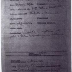Kserokopia udostępniona przez p. Piotra Łubieńskiego, skan MPW