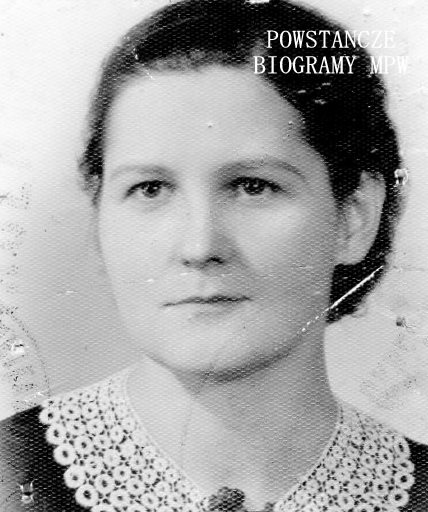 """Halina Antonina Koperska """"Czarna"""" (1909 - 1993) Fot. z archiwum rodzinnego Romana Koperskiego"""
