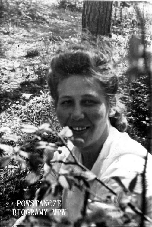 Katarzyna Prawdzic-Filipowicz po mężu Polańska. Fot. archiwum rodzinne