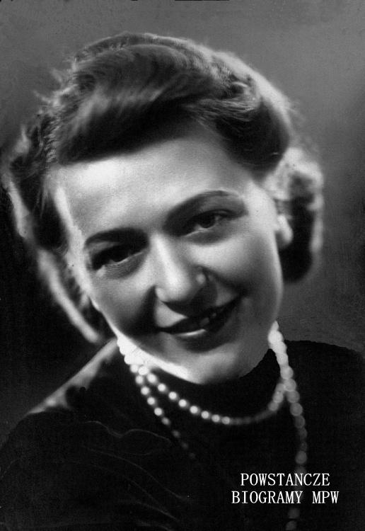 """Irena """"Rena"""" Błasińska z domu Kowalska (1912-2012). Fot. archiwum rodzinne"""