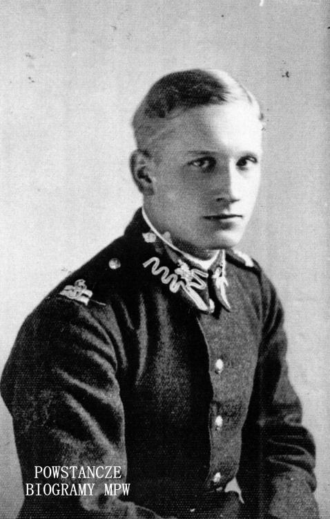 """Rtm. Jerzy Ostrzycki """"Łańcuch"""" (1908-1983). Fot ze zbiorów rodzinnych syna, p. Jacka Ostrzyckiego."""