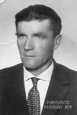 """Roman Wardecki ps. """"Stanisław"""". Fot. z archiwum Małgorzaty Gąsowskiej"""