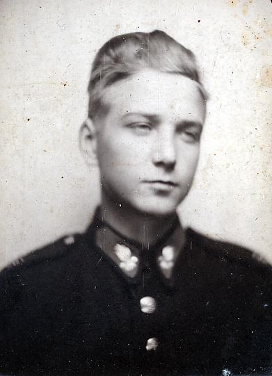 """Eugeniusz Bergier """"Marian"""" (1925-1944). Fot. AR MPW"""