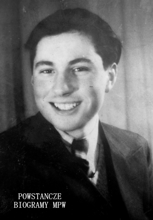 "Benedykt Hulewicz ""Ben"" (1926-1944). Fot. AR MPW"