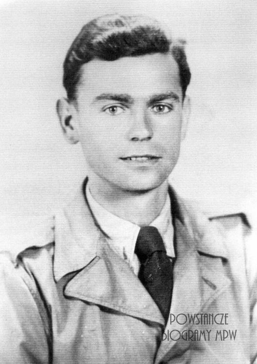 """Stanisław Iwankiewicz ps. """"Jacek"""" (1920-2012) Fot. AR MPW"""