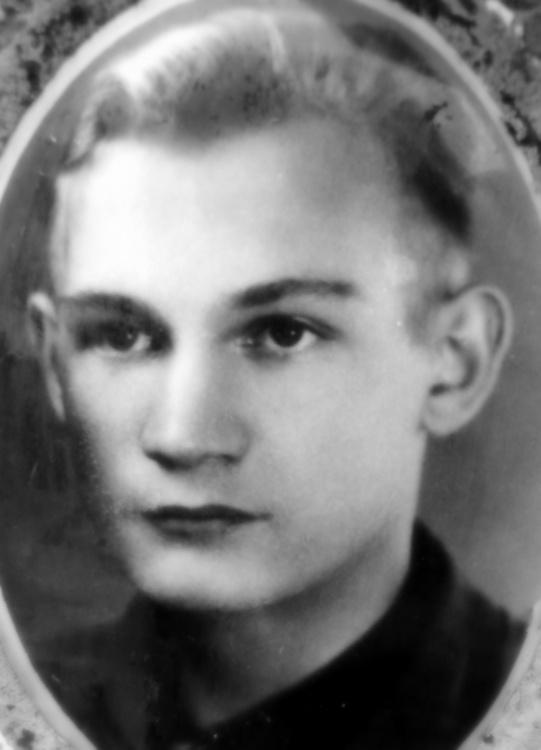"""Mieczysław Niedzielski """"Ryś"""" (1927-1944). Fot. archiwum rodzinne p. Marka Gębskiego."""