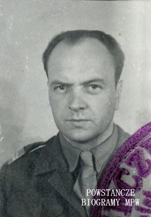 """kpr. Henryk Tatur """"Feliks Godlewski"""" (1913-1978). Fot. z archiwum rodzinnego Andrzeja Tatura"""