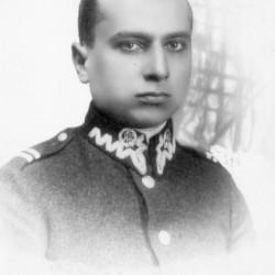 Henryk Julian Rudomino jako elew szkoły podchorążych. Fot. z archiwum Dariusza Rudzińskiego