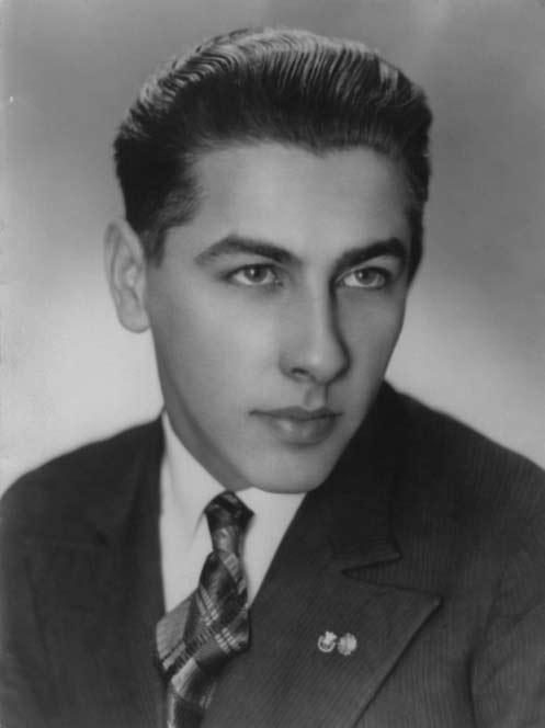 Stanisław Gęsicki - zdjęcie z gimnazjum 1935 r