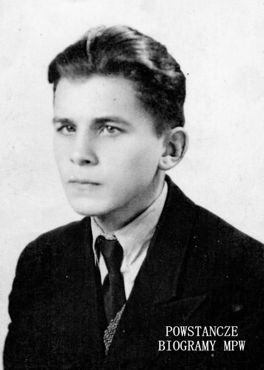 """Marian Czujkowski """"Grom"""" (1925-1944). Fot. archiwum rodzinne"""