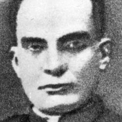 Fotografia portretowa. Ks. Prof. Ppłk. Jan Salamucha