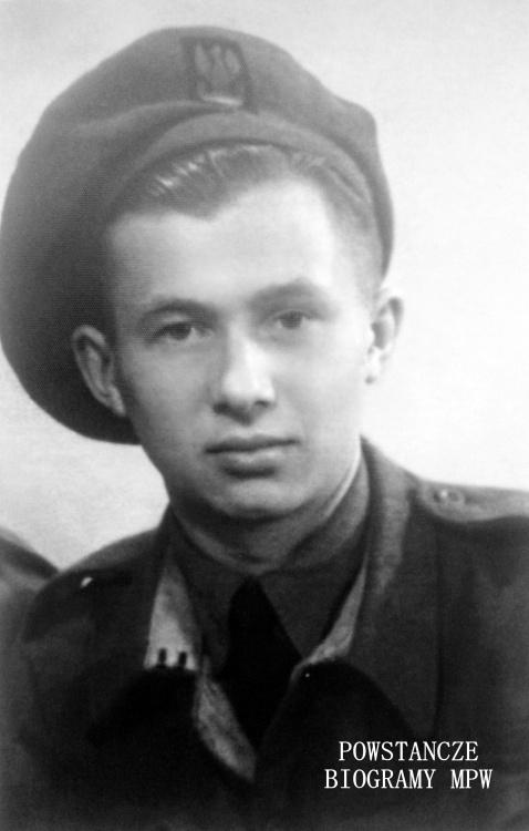"""Wiktor Lewtak ps. """"Piotr"""" (1926-1983). Fot. z archiwum rodzinnego Barbary Chodźko"""