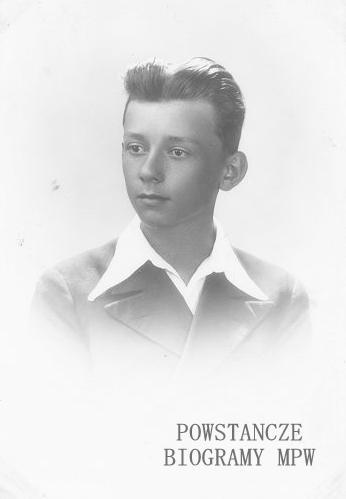 """Jerzy Wyszyński """"Janusz"""" (1925-2016). Fot. AR MPW"""