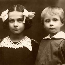 Julia i Kazimierz Hrebniccy - rok 1927