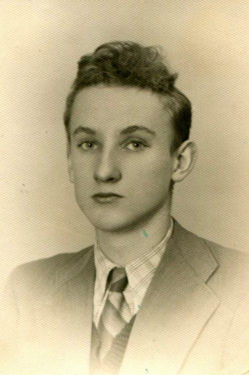 """Zbigniew Labes ps. """"Długi"""". Fot. archiwum rodzinne / MPW"""