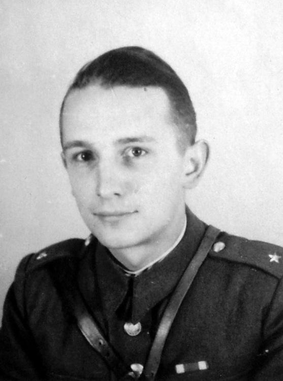 """Michał Urbanowski ps. """"Grad"""", Chełmno - 1945 rok. Fotografia ze zbiorów Haliny Urbanowskiej."""
