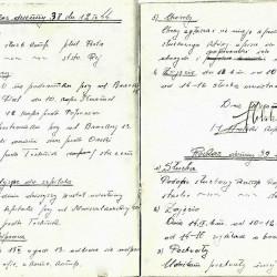 Książka rozkazów II kompanii batalionu