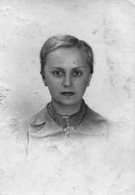 Karolina Lubieńska - 1933 r.
