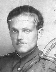 """Leopold Stanisław Kiersznowski """"Pobóg"""" Fot. z archiwum rodzinnego  Anny Kiersznowskiej."""